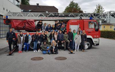 Besuch der Feuerwache Schallmoos